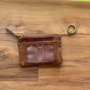Fossil 2 in one coin and card purse